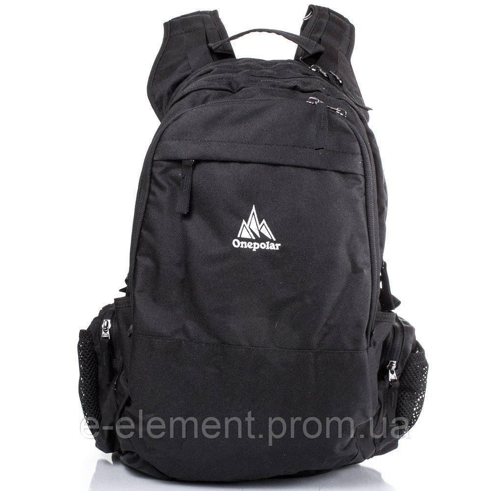 aa701f8a08f5 Рюкзак спортивный Onepolar Мужской рюкзак ONEPOLAR (ВАНПОЛАР) W1730-black