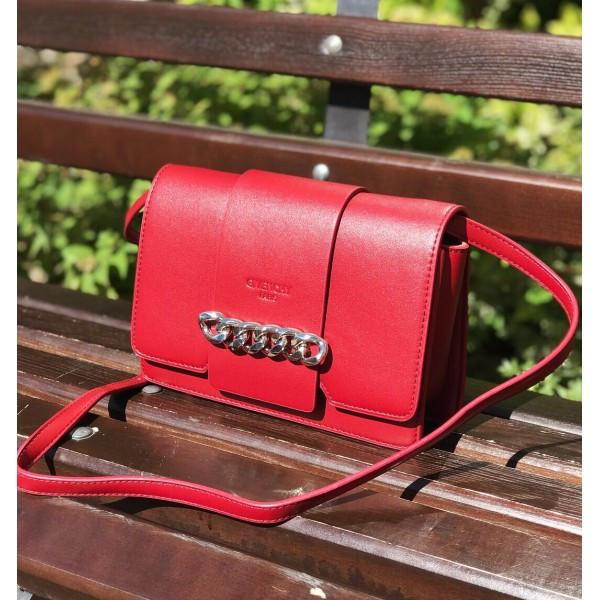 Женская сумочка Givenchy (Живанши) Infiniti, красный цвет