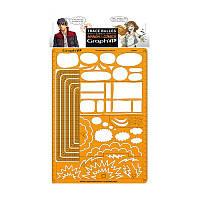 Трафарет Comics Manga В, 21*29,7см, Graph'it