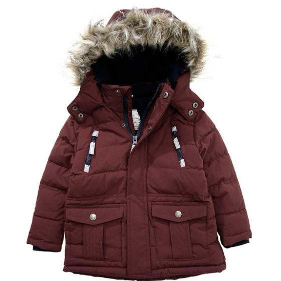Стеганая зимняя куртка для мальчика Topolino Германия Размер 128