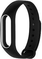Ремешок UWatch Double Color Replacement Silicone Band For Xiaomi Mi Band 2 Black/White Line