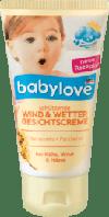 Крем защита от мороза babylove Wind und Wetter Gesichtscreme, 75 ml