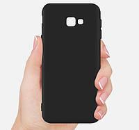 Силиконовый TPU чехол JOY для Samsung Galaxy J4 Plus 2018 черный