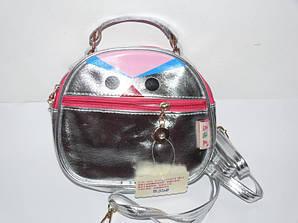 Детская сумочка серебро