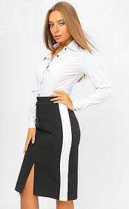 Классическая офисная юбка-карандаш 42-48 р