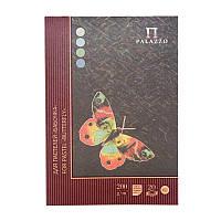 "Планшет для пастели ""Бабочка"" А4, 200г/м2, 20л., 4 цвета, Лилия Холдинг"