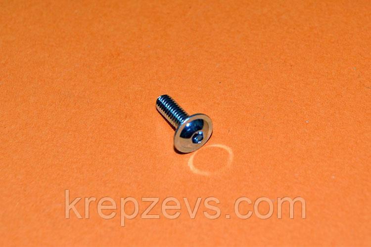 Винт М5 ISO 7380 с фланцем прочностью 10.9