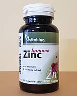 Эхинацея и цинк + витамин С / VitaKing / Венгрия / 60 таб.