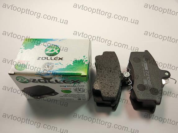 Колодки передние ВАЗ 2108,2109,21099,Балтика  ZOLLEX Z2108F, фото 2