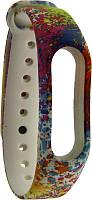 Ремешок UWatch TPU Replacement Print Design Wrist Strap  for Mi Band 2 F, фото 1