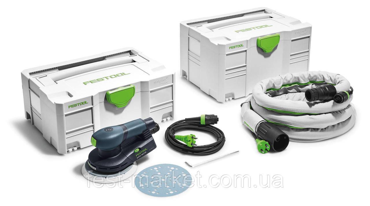 Эксцентриковая шлифовальная машинка ETS EC 150/3 EQ-Plus-GQ Festool 575399