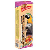 Vitapol Smakers с орехами и фруктами для крупных попугаев