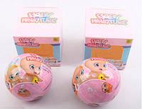 Пупс в шаре , игрушка для девочек  в коробке