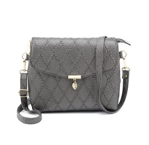 Женская сумочка-клатч серая