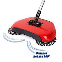 Механическая щётка веник швабра для уборки пола Sweep drag all in one Rotating 360, фото 2