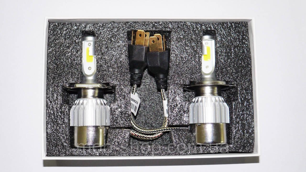 Светодиодные лампы C6 БиКсенон Xenon LED 36W 12V H4
