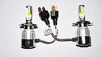 Светодиодные лампы C6 БиКсенон Xenon LED 36W 12V H4, фото 2