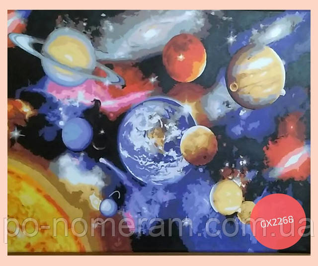 раскраска космос