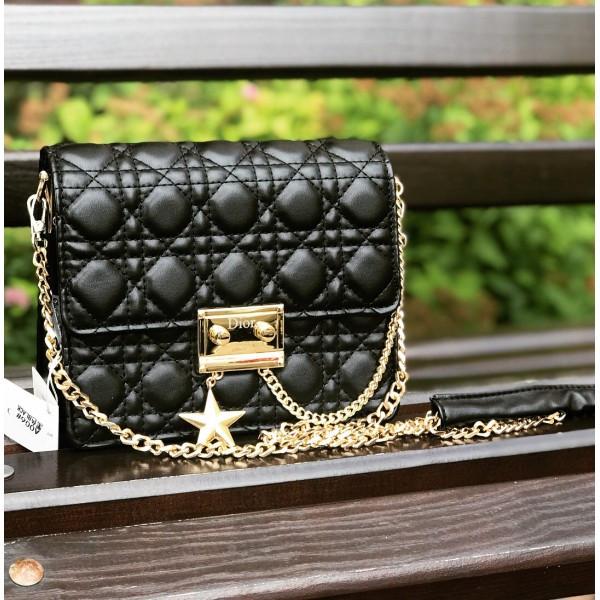 ca6cba4c7a72 Женская сумочка (Диор) Mini, черный цвет  продажа, цена в Днепре. от ...