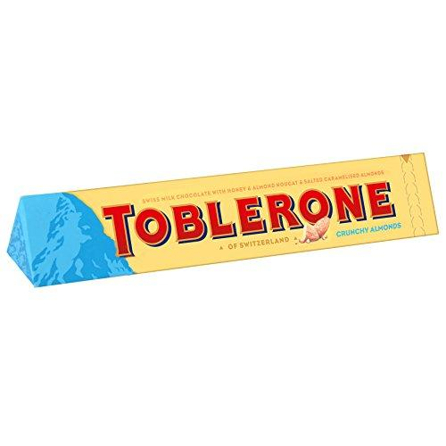 Шоколад Toblerone Crunchy Almonds с соленым миндалем 100 г