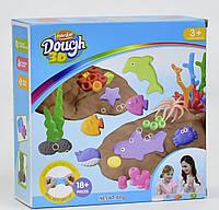 Детский набор для лепки в коробке (морские фигурки)