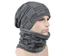 Шапка и шарф для зимних видов спорта. (Б-1019)