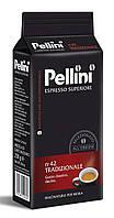 Кофе молотый из Италии Pellini Espresso Superiore n.42 Tradizionale 250 г., фото 1