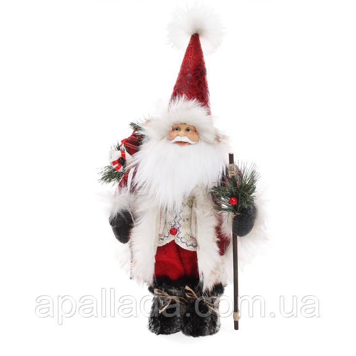 Новогодняя мягкая игрушка Санта 40 см