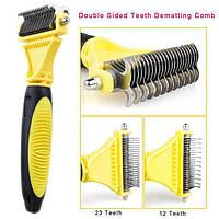 Щётка для расчёсывания шерсти 2018 Professional Pet Dematting Comb