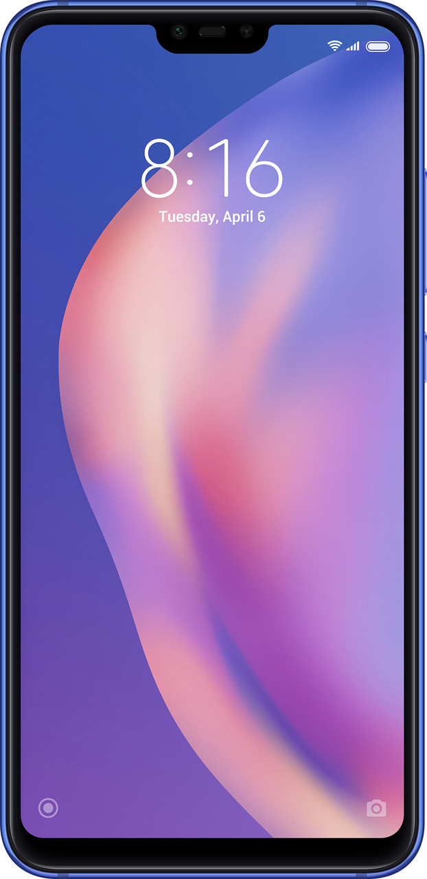 Смартфон Xiaomi Mi8 Lite 4/64gb LTE Blue Global Version