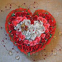 """Сердце из конфет для влюбленных """"Для тебя"""", фото 2"""