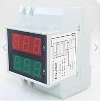 Цифровой амперметр вольтметр переменного тока на микроконтроллере электронный 100А