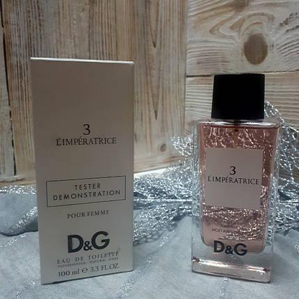 Dolce&Gabbana L'imperatrice 3 100ml TESTER | Дольче Габбана Императрица, фото 2