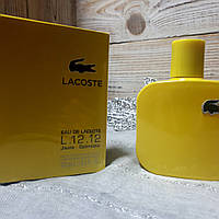Парфюмированная вода Lacoste L.12.12 Jaune-Optimistic  100ml. | Мужские духи   Лакоста Джун реплика