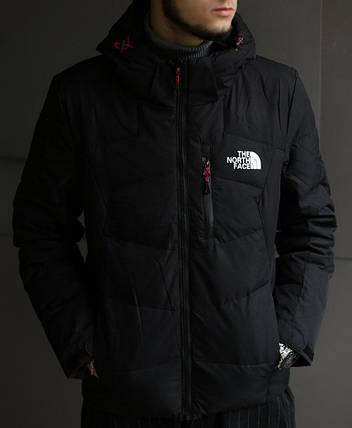 Чоловічий пуховик The North Face чорний, фото 2