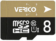 Карта памяти Verico microSDHC/SDXC  Class 10 UHS-I 8 Gb, фото 1