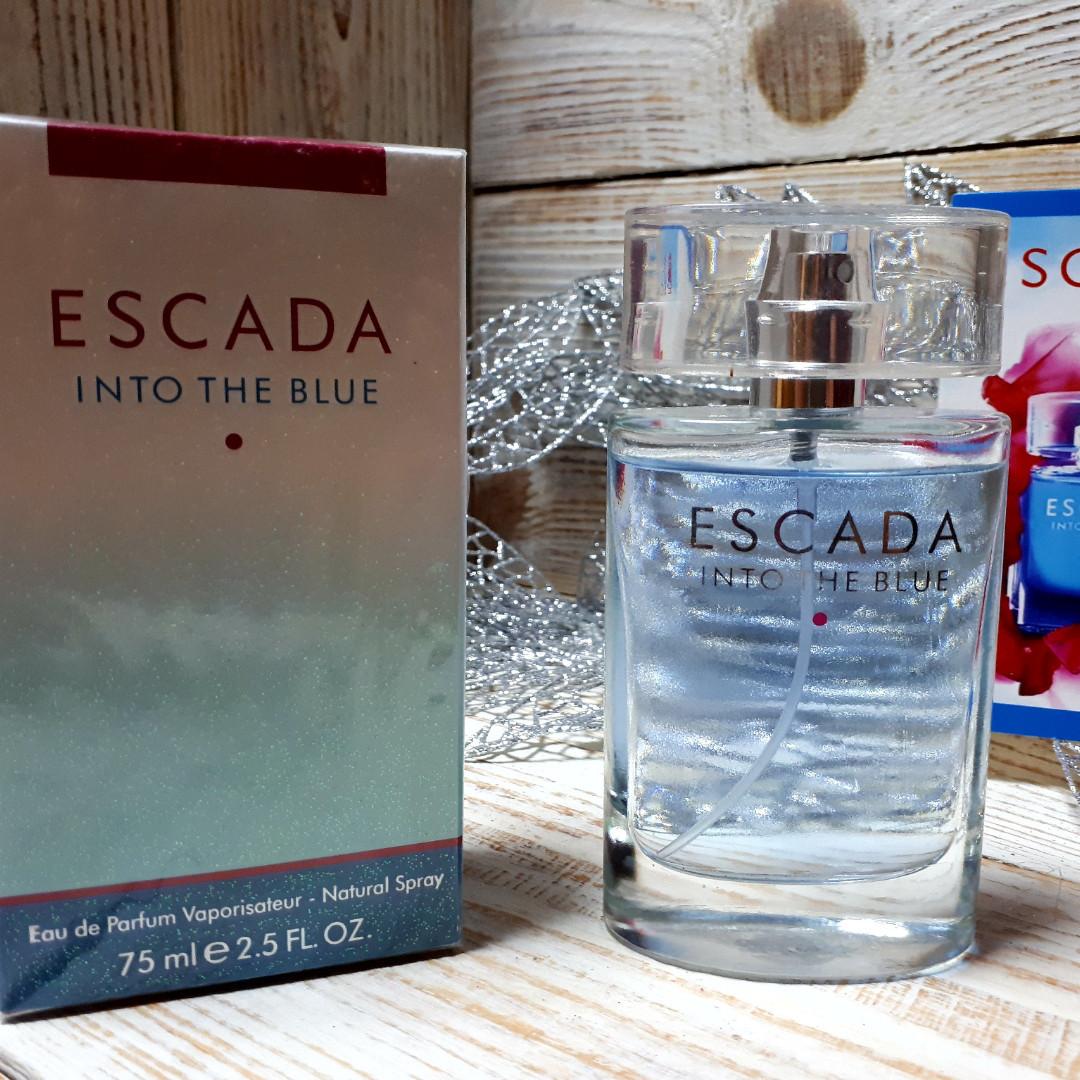 женская туалетная вода Escada Into The Blue Eau De Parfum 75ml