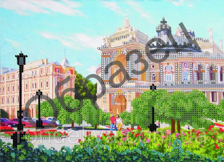 Схема для вишивки бісером «Одеса - оперний театр»