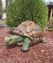 Садовая фигура Черепаха большая, фото 2