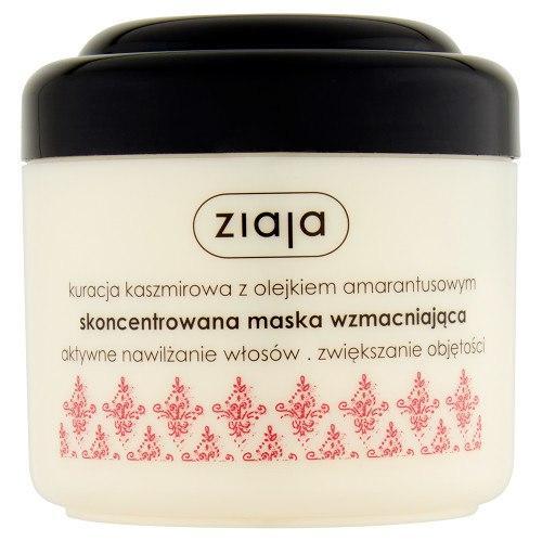 Ziaja Концентрированная укрепляющая маска для волос с кашемиром