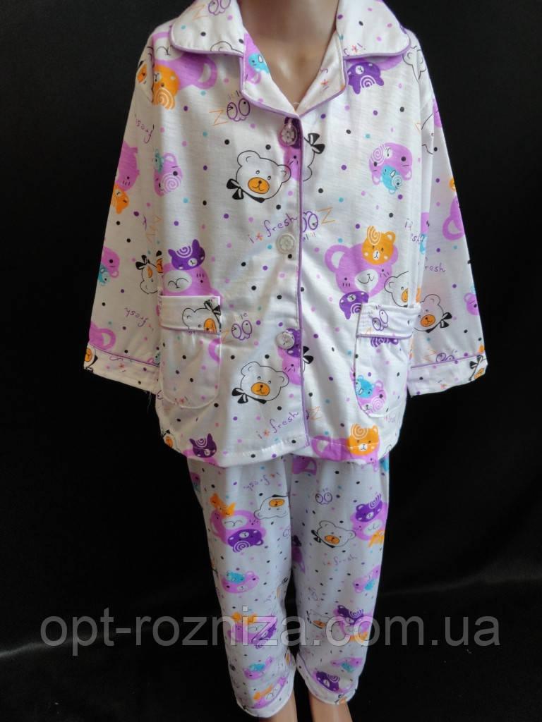 Пижамы для сна детские мальчикам и девочкам.
