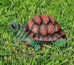 Садовая фигура Черепашонок малый, фото 2