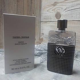 Духи Gucci Guilty Stud Limited Edition Pour Homme TESTER 90ml | Мужские  духи Гуччи Гилти Стад Пур Хом