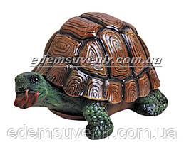 Садовая фигура Черепаха гурман, фото 2