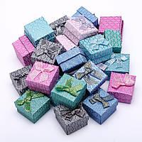 Коробочки для колец 5х5х3 см - Волны