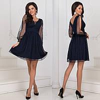 """Вечернее нарядное блестящее короткое платье """"Салюте"""", фото 1"""