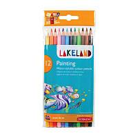 Набор акварельных карандашей Lakeland Painting в блист. 12 цветов, Derwent