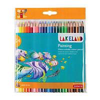 Набор акварельных карандашей Lakeland Painting в блист. 24 цвета, Derwent