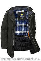 Куртка зимняя мужская BLACK VINYL C18-1326S16 хаки, фото 1