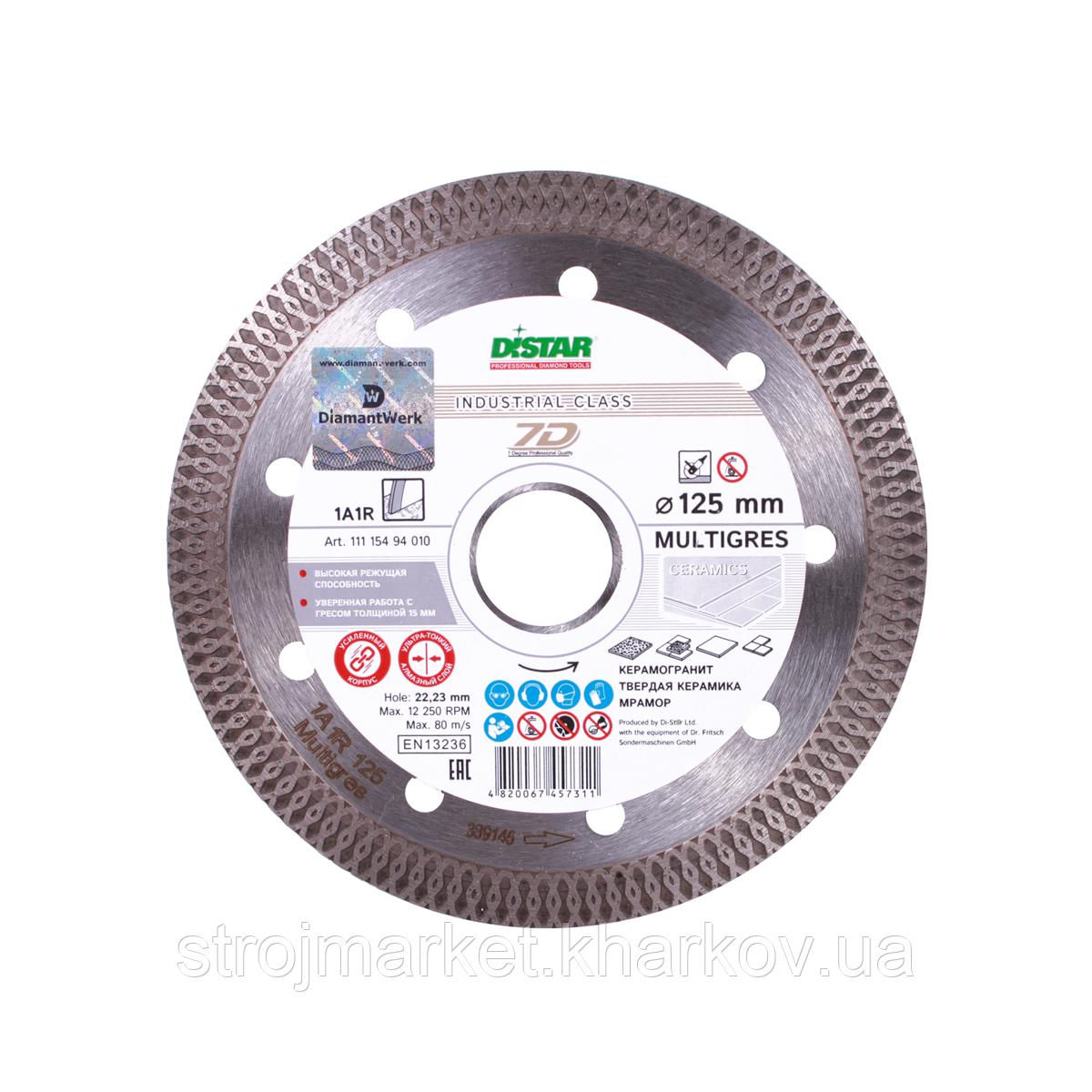 Алмазный отрезной диск Multigres 115x1.4 мм TM Distar